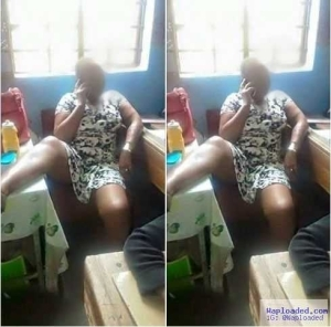 See The Atrocious Way A Teacher Sat And Exposed Her Legs In Presence Of Pupils